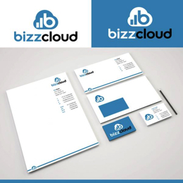 Design a new logo (and stationery) for a cloud business software company